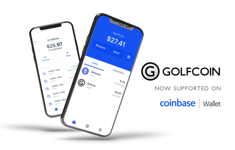 coinbase golfcoin wallet